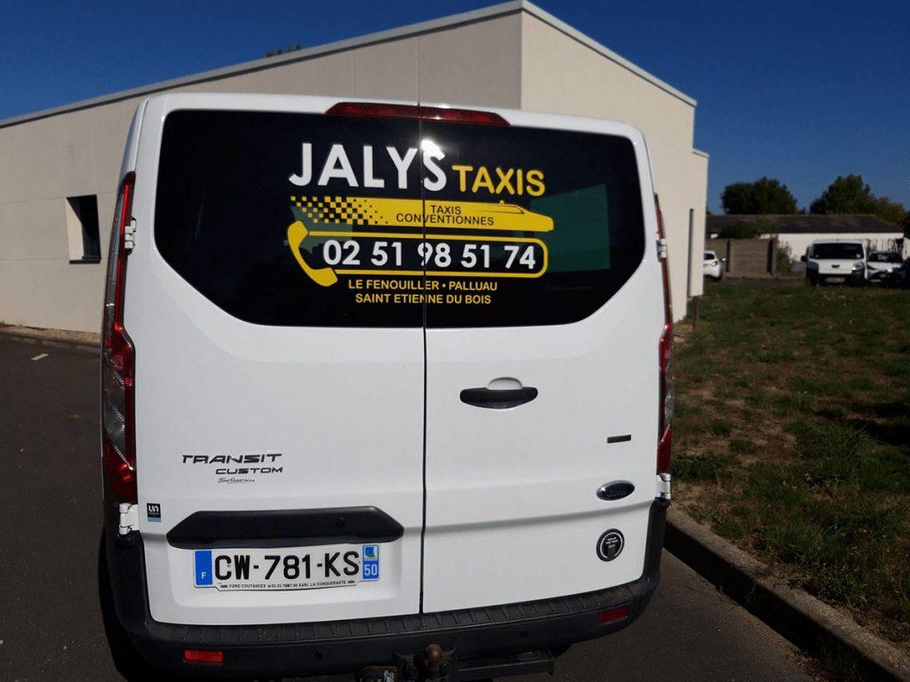 Véhicule de JALYS Taxis, Palluau